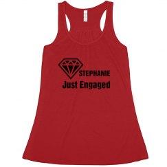 Just Engaged Tshirt