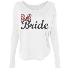 Bride Bow Longsleeve Tee