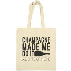 Champagne Custom Bridal Party