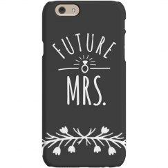 Future Mrs Hand Drawn Phone Case