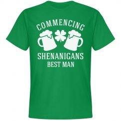 St Patrick's Day Bachelor Shirts