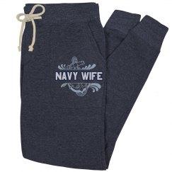 Navy Wife Sweatpants