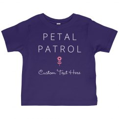 Petal Patrol Flower Girl