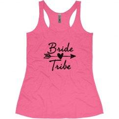 Bride Tribe Bride Bachelorette tank tops