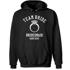 Team Bride Hoodie