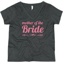 Mother of Bride Bold Text