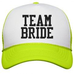 Team Bride Varsity Yellow
