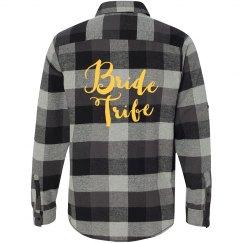 Bride Tribe Flannel Shirt