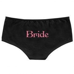 Bride Pink on Black