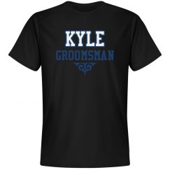 Custom Name Groomsman