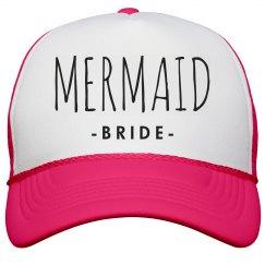 Mermaid Bride To Be Trucker Hat