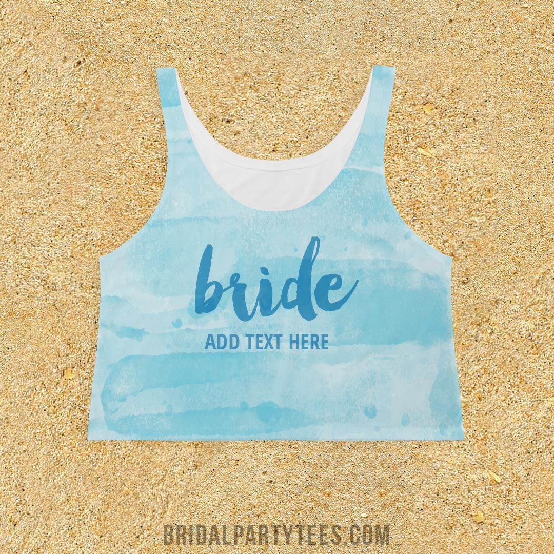 All Over Watercolor Bride