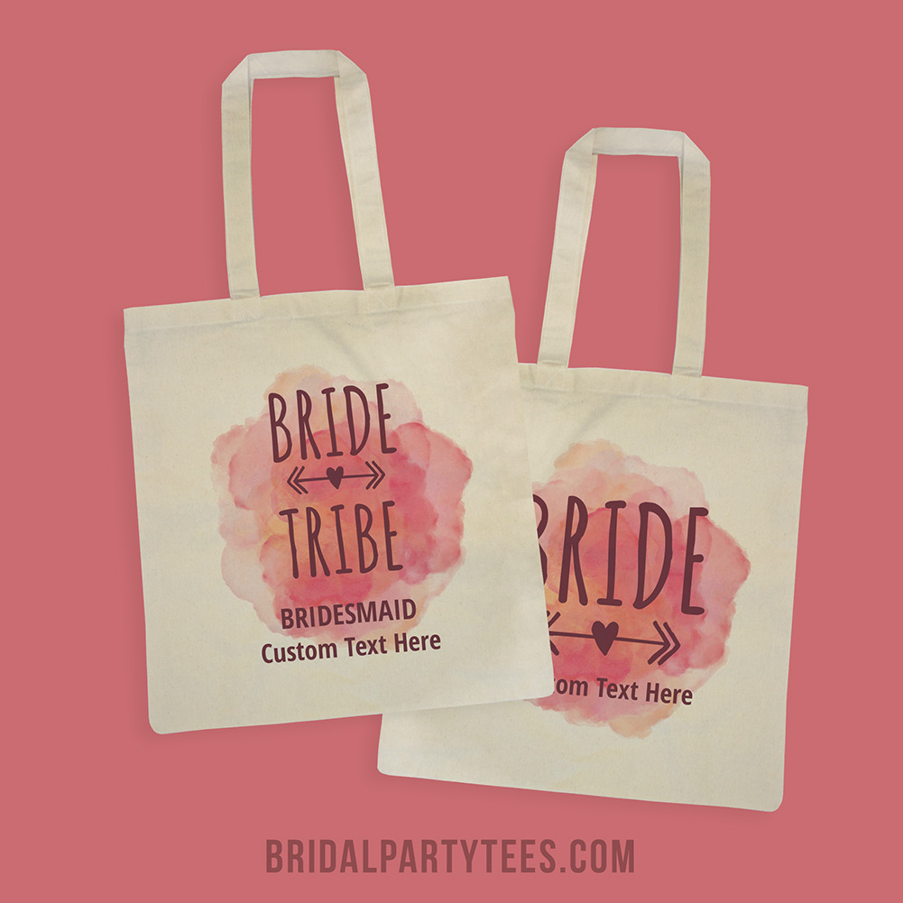Bridesmaid Tote Bags - Bridal Party Tees