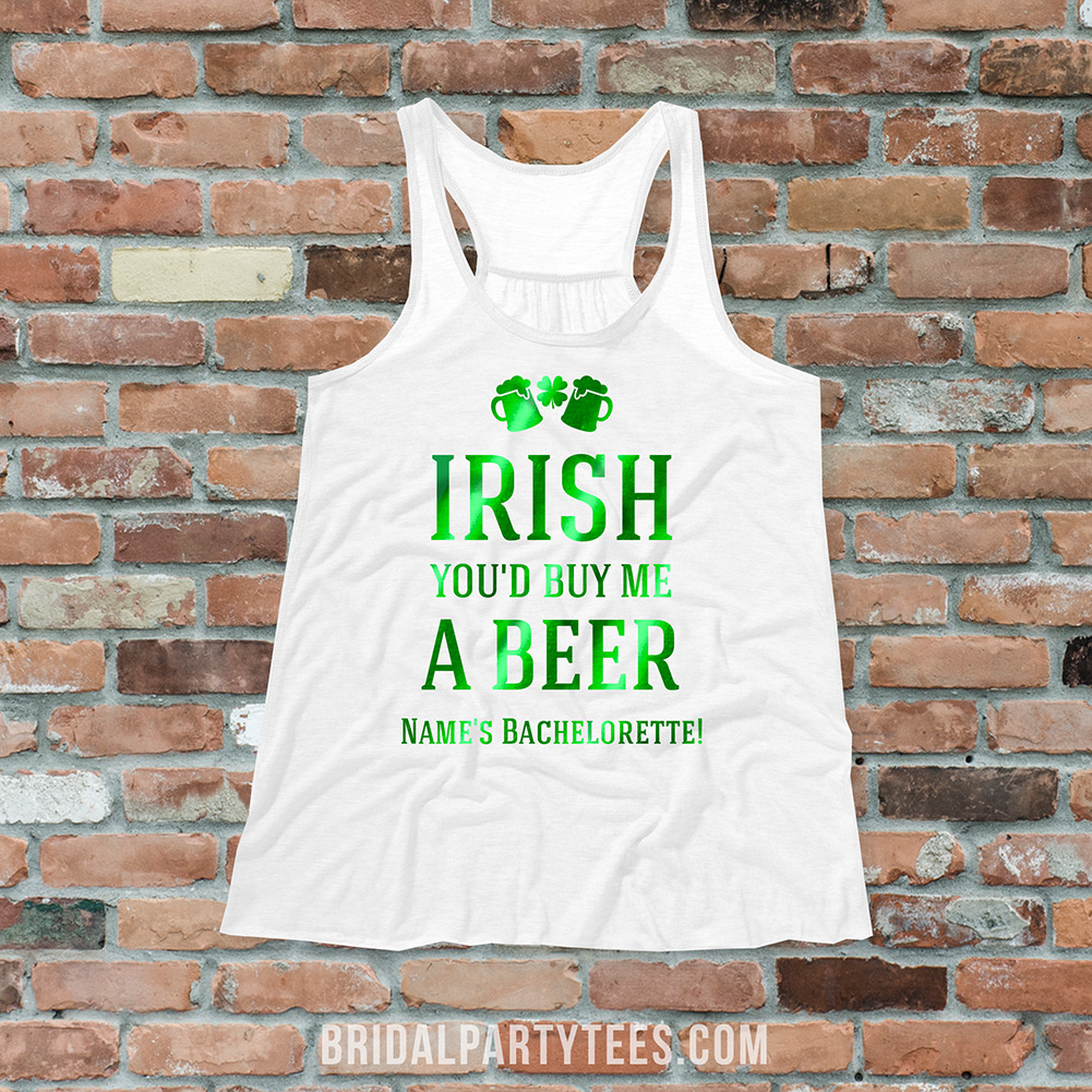 Bachelorette Party Shirts For St. Patrick's Day
