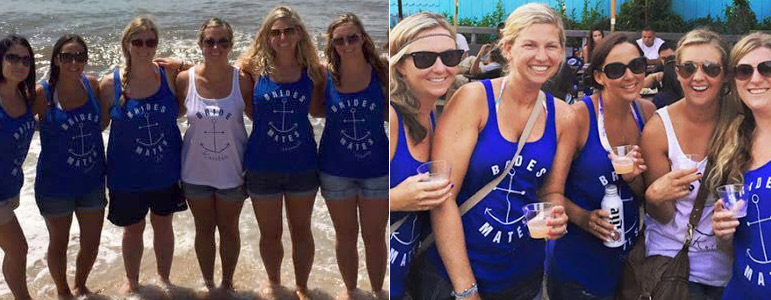 Nautical Bachelorette Shirts And Tanks