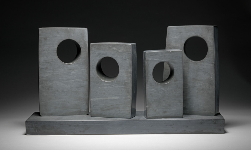 Dame (Jocelyn) Barbara Hepworth, Four Rectangles with Four Oblique Circles, 1966