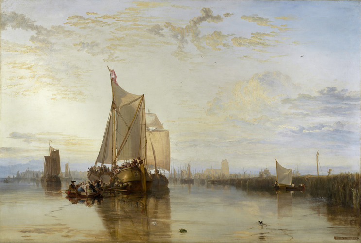Joseph Mallord William Turner, Dort or Dordrecht: The Dort packet-boat from Rotterdam becalmed, 1818
