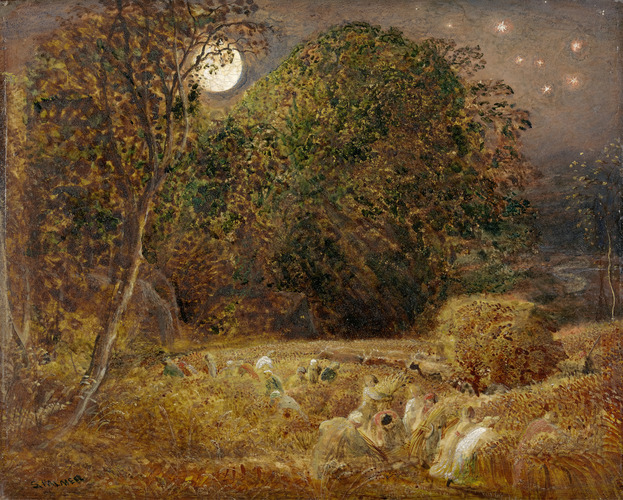 Samuel Palmer, The Harvest Moon, ca. 1833