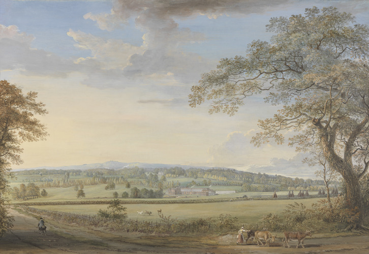 Paul Sandby, RA A View of Vinters at Boxley, Kent, with Mr. Whatman's Turkey Paper Mills, 1794