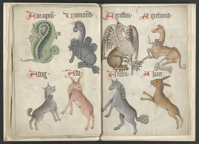 Helmingham herbal and bestiary, ca. 1500