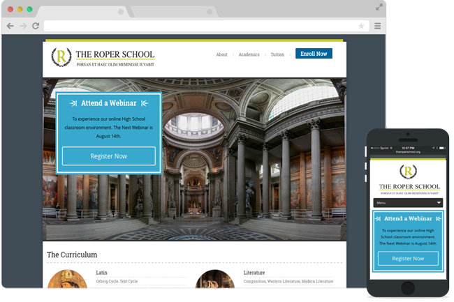The Roper School Website