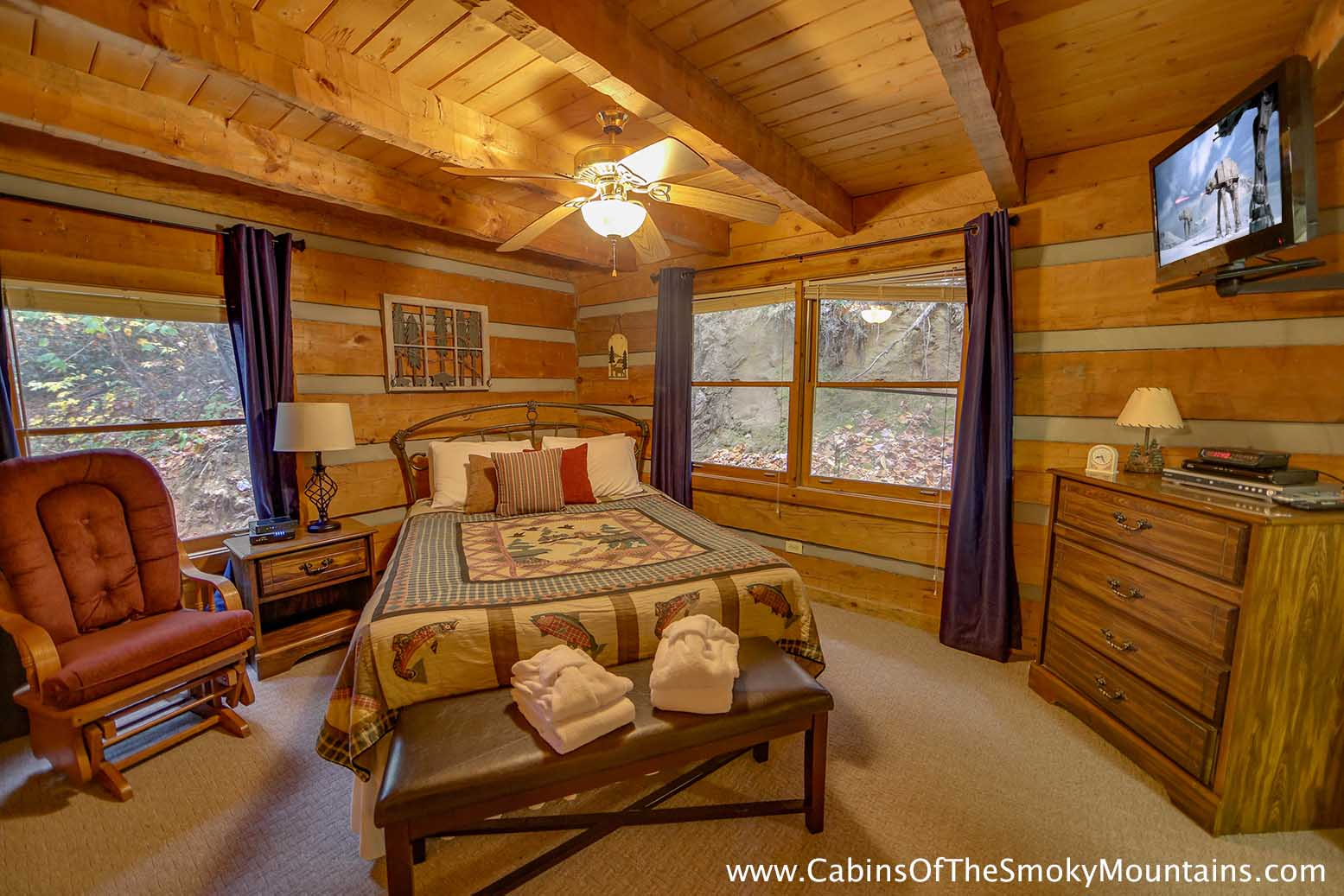 Gatlinburg Cabin Da 39 Mar 3 Bedroom Sleeps 8