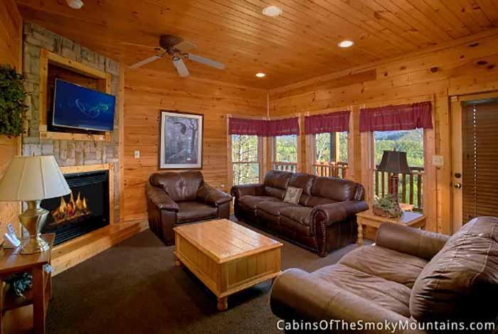 Gatlinburg Cabin 5 Star View From