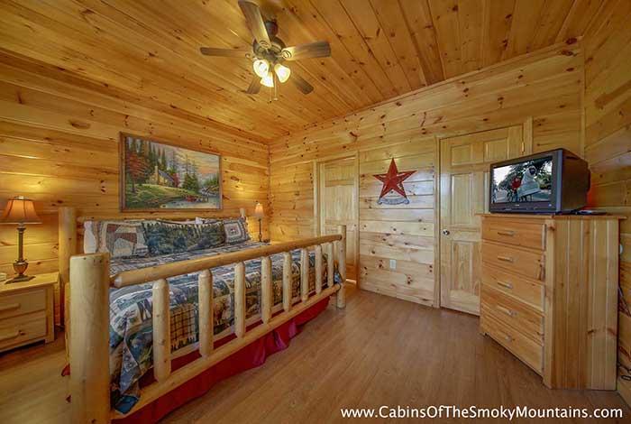 Pigeon Forge Cabin 6 Suites Lodge 6 Bedroom Sleeps 18