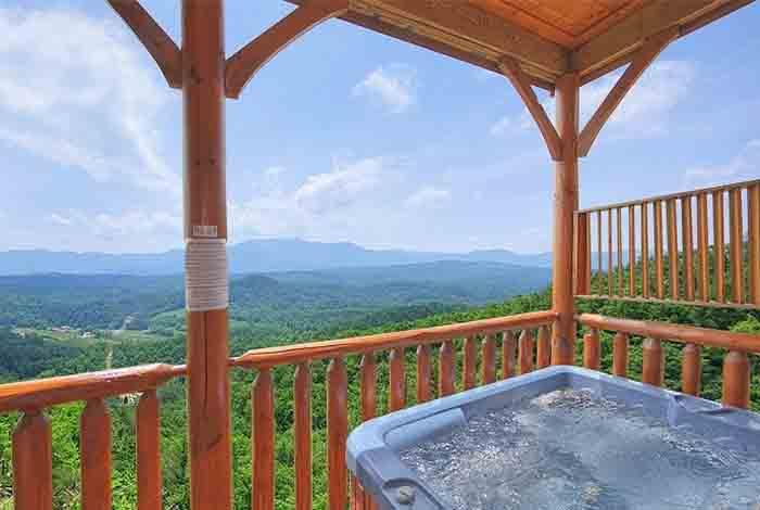 Pigeon forge cabin a natural high 1 bedroom sleeps 6 - Gatlinburg falls resort swimming pool ...