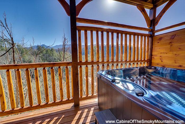 Gatlinburg cabin a view for two 2 bedroom sleeps 6 - Gatlinburg falls resort swimming pool ...