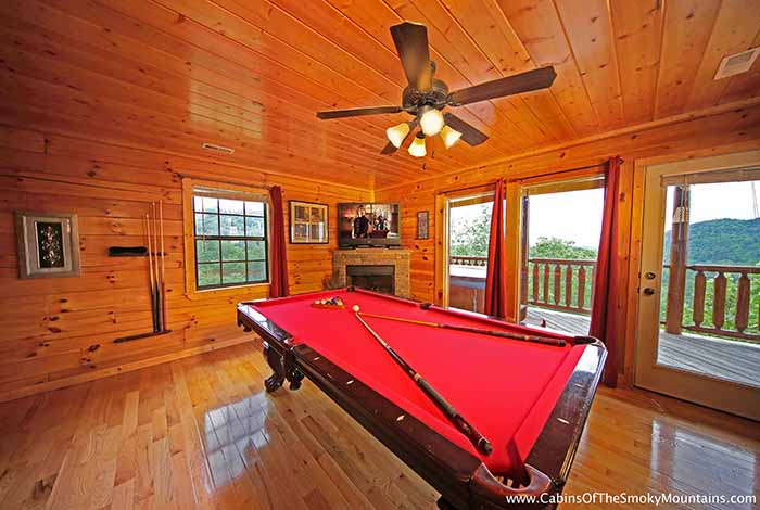 Pigeon forge cabin above heaven 4 bedroom sleeps 10 for Premier smoky mountain cabin rentals