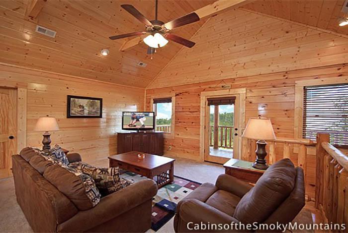 Pigeon forge cabin above the stars 12 bedroom sleeps 58 - 12 bedroom cabins in gatlinburg tn ...