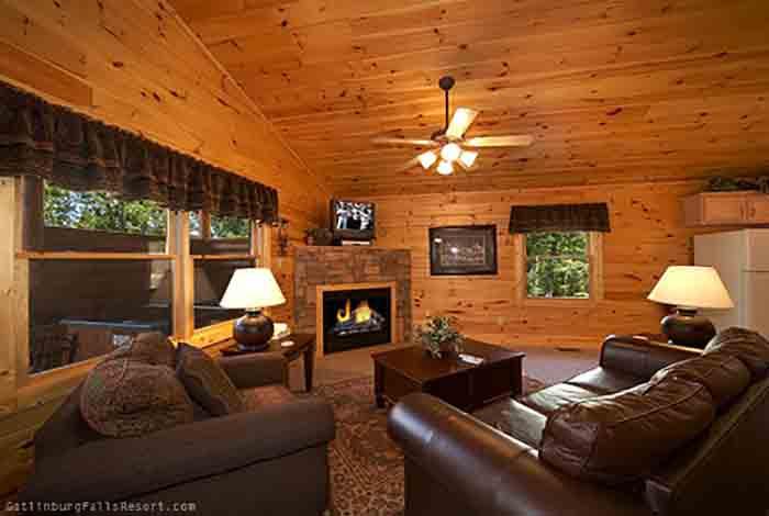 Gatlinburg Cabin Absolute Adventure 1 Bedroom Sleeps 4