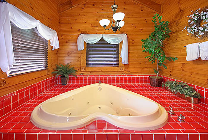 Gatlinburg cabin after the kiss 1 bedroom sleeps 6 for 1 bedroom pet friendly cabins in gatlinburg tn