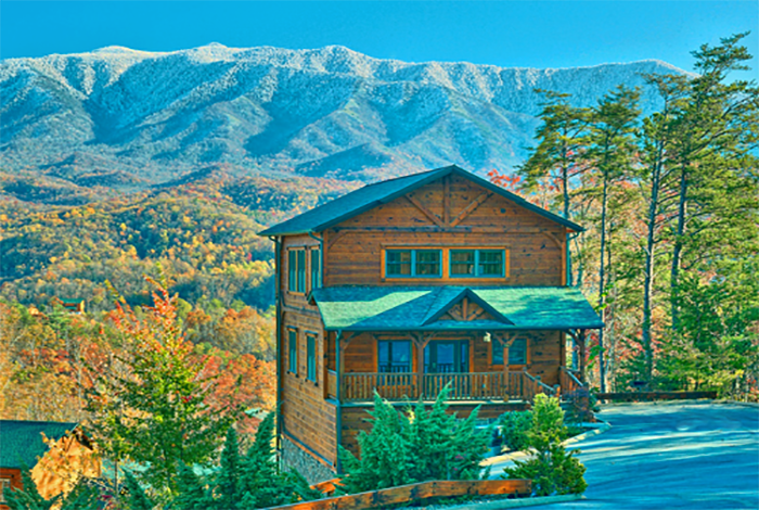 gatlinburg cabin amazing views 3 bedroom sleeps 10