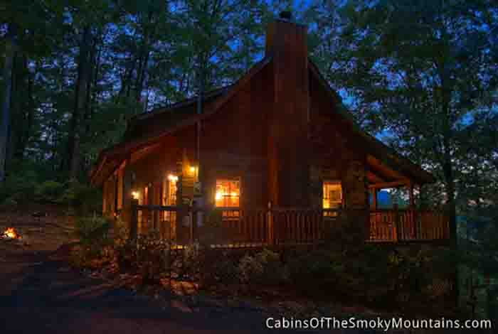 Pigeon Forge Cabin Among The Trees 1 Bedroom Sleeps 4