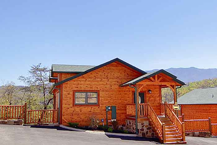 Pigeon Forge Cabin Angel S Window 2 Bedroom Sleeps 8