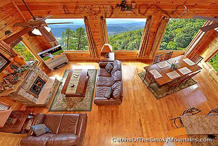 pigeon forge cabin april mist 2 bedroom sleeps 8 jacuzzi