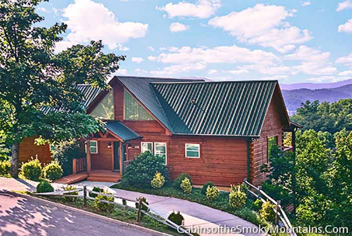 Pigeon Forge Cabin As Good As It Gets 5 Bedroom Sleeps 26 Jacuzzi Swimming Pool Access