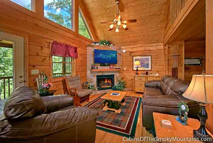 Gatlinburg Cabin Away For Romance 1 Bedroom Sleeps 4