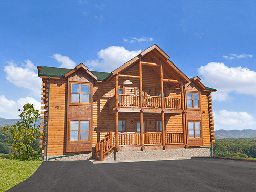 Pigeon forge cabin legacy lodge 12 bedroom sleeps 58 for Smoky mountain cabin rentals gatlinburg tn