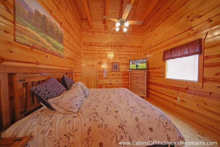 Pigeon Forge Cabin Bearadise 5 Bedroom Sleeps 14 Jacuzzi Home Theater Loft
