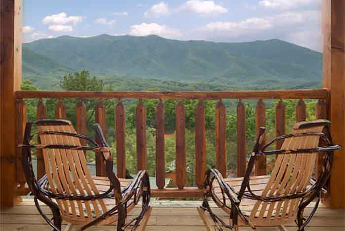 Gatlinburg cabin best views and movies 1 bedroom Best mountain view cabins in gatlinburg tn