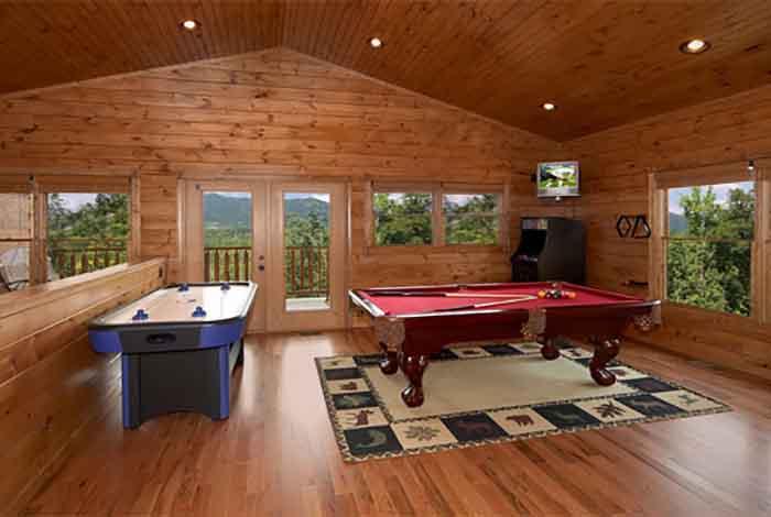 Gatlinburg Cabin Best Views And Movies 1 Bedroom