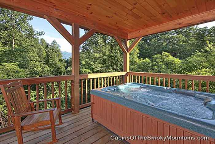 Gatlinburg cabin birdland 2 bedroom sleeps 6 - Gatlinburg falls resort swimming pool ...
