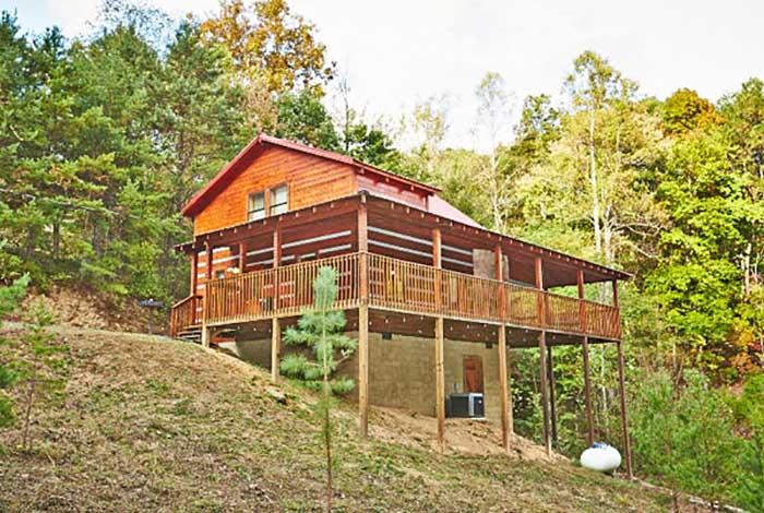 pigeon forge cabin black bear hideaway 2 bedroom