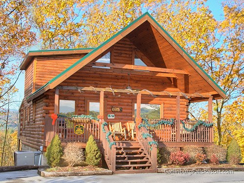 pigeon forge cabin sweet surrender 2 bedroom sleeps 8