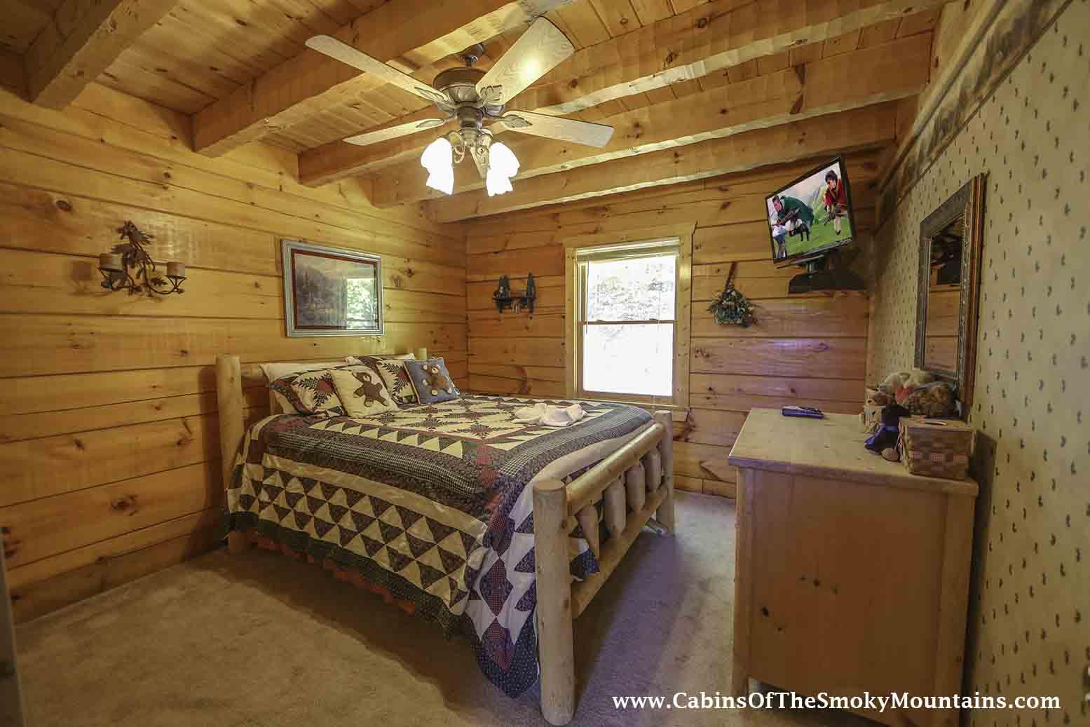 Pigeon Forge Cabin Honey Bear Retreat 2 Bedroom Sleeps 6