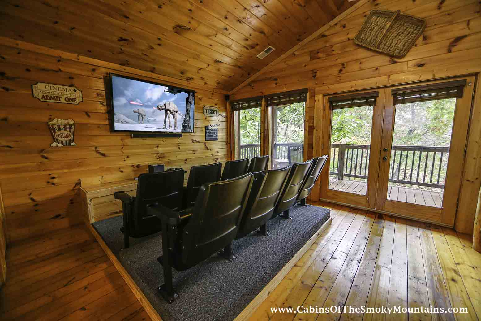 Pigeon Forge Cabin Big Bear Retreat Bedroom Sleeps - 7 bedroom cabins in gatlinburg tn