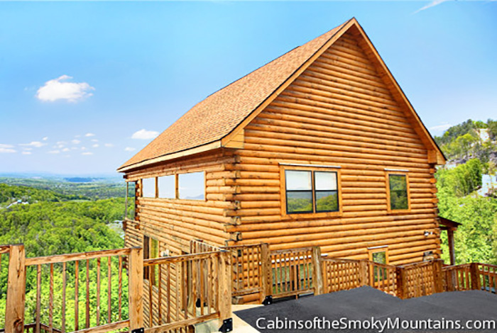 Pigeon forge cabin my sugar baby 1 bedroom sleeps 8 for Www cabins of the smoky mountains com